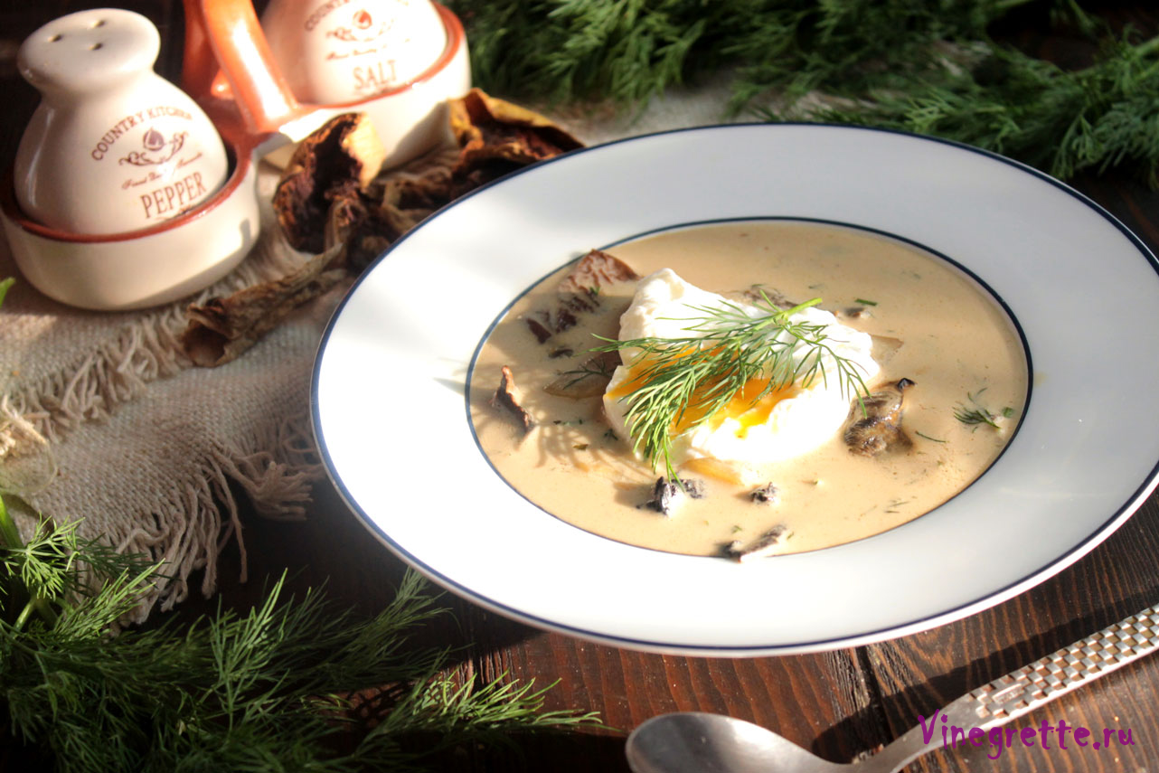 Чешский картофельный суп кулайда — рецепт с фото